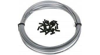 Jagwire LEX guaina cavo cambio 4,0mm pearl argento (7,62m incl. 30 End boccole )