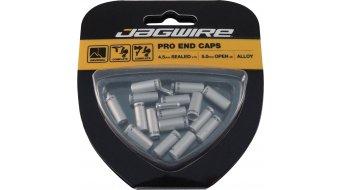 Jagwire Universal Pro tapas terminales-Kit 4,5mm color plata
