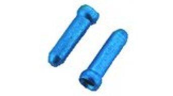 Jagwire aluminio cable Bowden interior-vainas finales 1.8mm azul