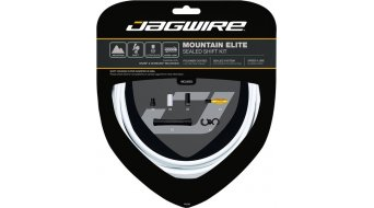 Jagwire Mountain Elite Sealed Schaltzugset weiß