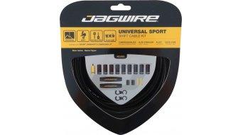 Jagwire Universal Sport Schaltzugset schwarz