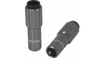 Jagwire Mini Inline regolatore tensione cavo allum. titanio (paio )