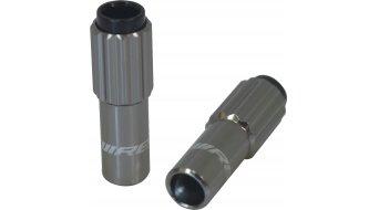 Jagwire Mini Inline ajustador de cable Bowden aluminio (par)