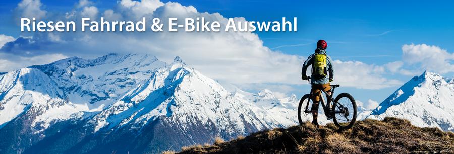 Fahrräder und E-Bike einfach online bestellen - Specialized, Trek, Ghost, Haibike online kaufen