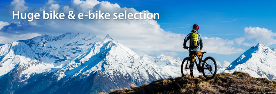 Buying a bike made easy in our bike shop online
