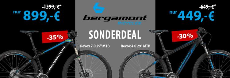 Sonderdeal: Bergamont Revox 4.0 und 7.0