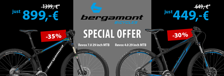 Special offer: Bergamont Revox 4.0 and 7.0