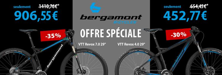 Offre spéciale: Bergamont Revox 4.0 et 7.0
