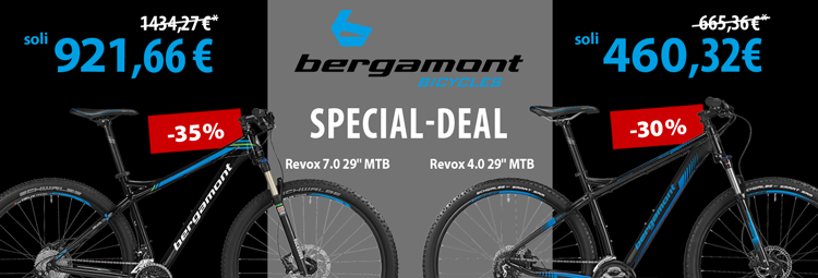 Special-deal: Bergamont Revox 4.0 and 7.0