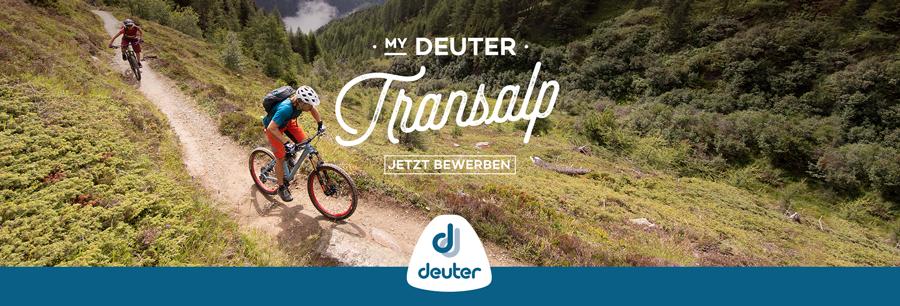 My Deuter Transalp - Alpencross gewinnen