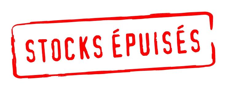 stocks épuisés