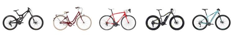 Лизинг - всичики велосипеди от 749 €