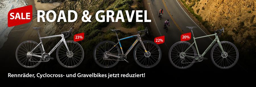 Bike Sale: 20% und mehr auf Rennräder, Cyclocross- und Gravelbikes