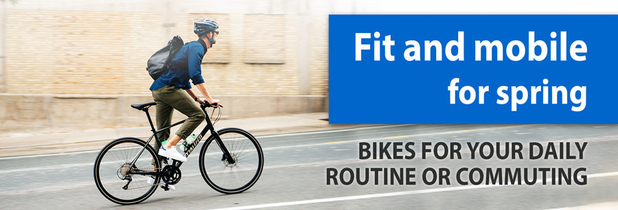 Bikes for your daily routine or commuting