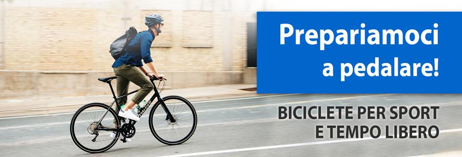 Biciclette per sport e tempo libero