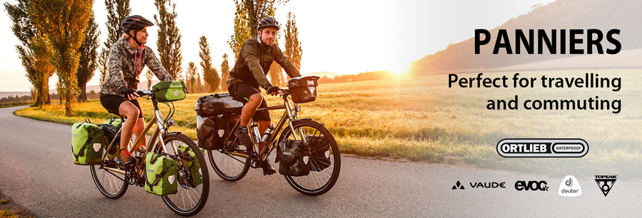 Panniers: Perfect for travelling and commuting!