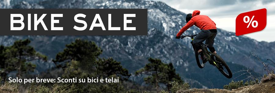Vendita bici: Sconto del 20 % e più su biciclette e telai