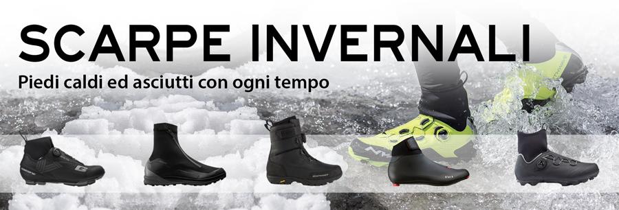 Scarpe invernali per piedi caldi e asciutti
