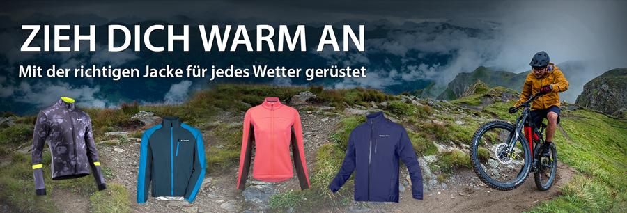 Die richtige Jacke für jedes Wetter