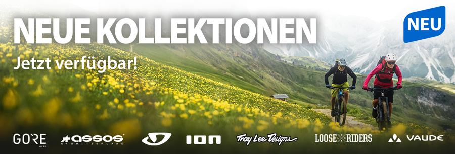 Neue Styles der Top-Bike-Marken - jetzt bei uns bestellen!