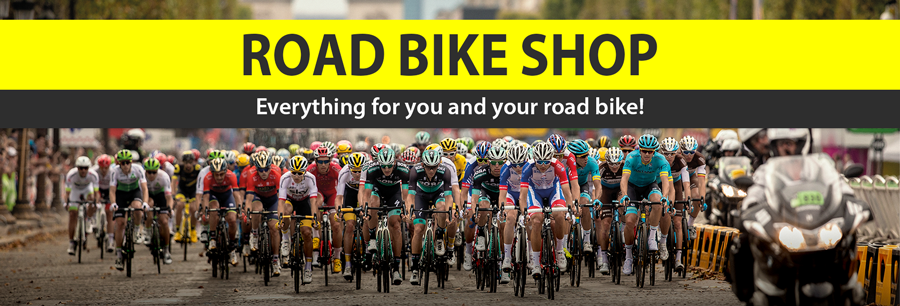 Ready? Road bikes and professional equipment for the Tour Start!