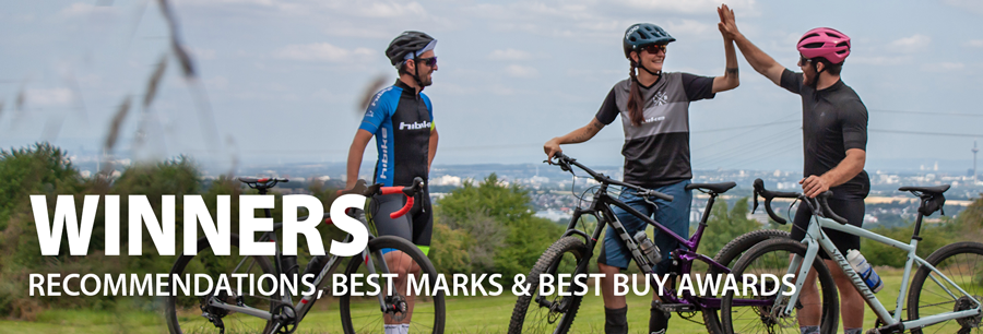Winners - Only the best for you and your bike!