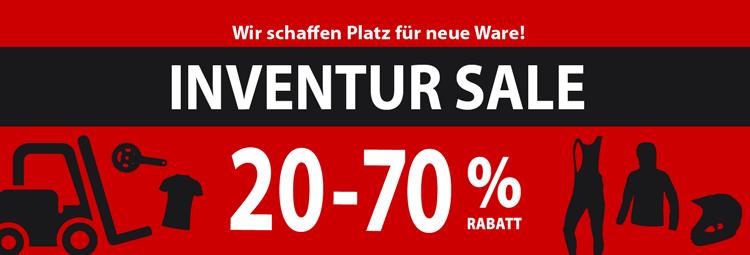 Großer Inventur Sale - bis zu 70% Rabatt