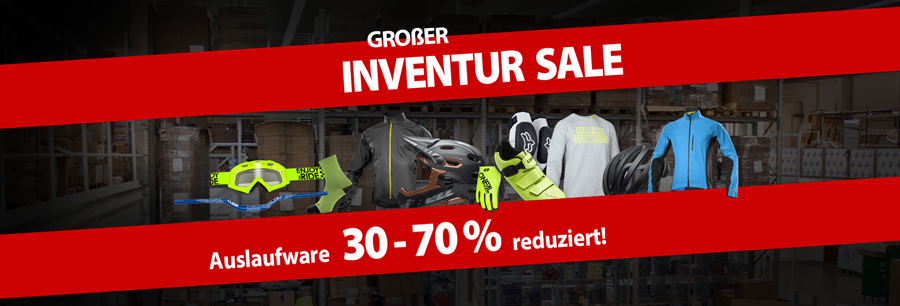 Inventur SALE - 30-70% sparen!