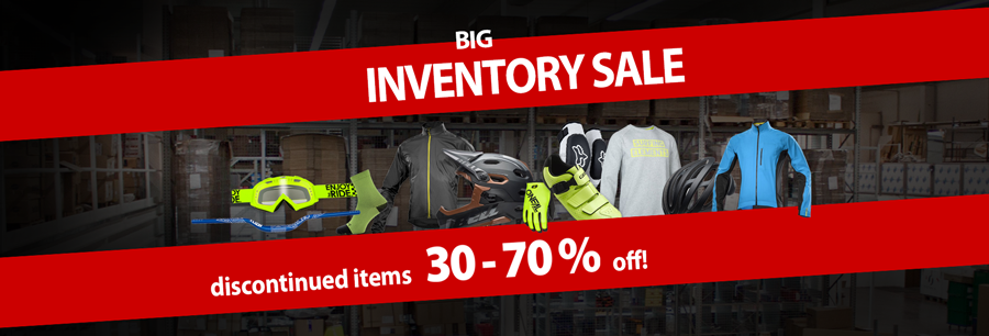 Inventory SALE - 30-70% discount!