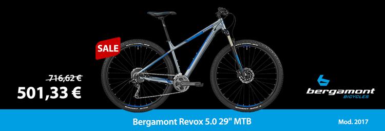 """Bergamont Revox 5.0 29"""" – beginner MTB for a reasonable price"""