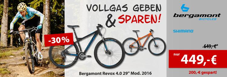 Sonderdeal: Bergamont Revox 4.0 Mountainbike