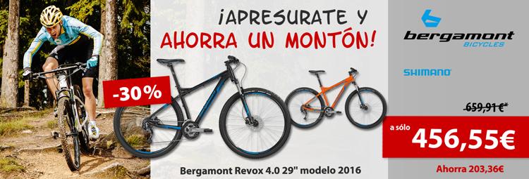 Oferta especial: Bergamont Revox 4.0 Mountainbike