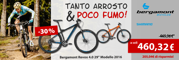 Specialdeal: Bergamont Revox 4.0 Mountainbike