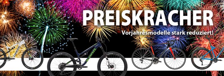 2017er Kompletträder und Rahmen bis zu 50% reduziert