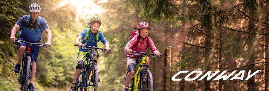 Conway Fahrräder, Zubehör und E-Bikes einfach online bestellen