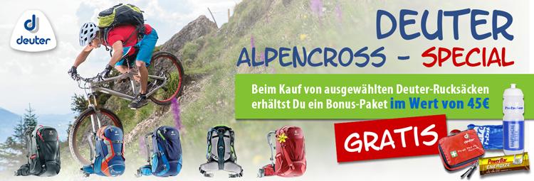 Deuter-Alpencross-Aktion
