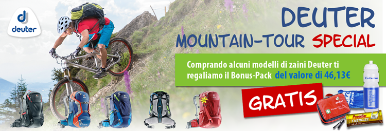 Deuter alpine trip promotion