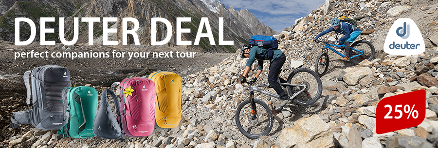 Deuter Deal: Top-Backpacks for a summer price!