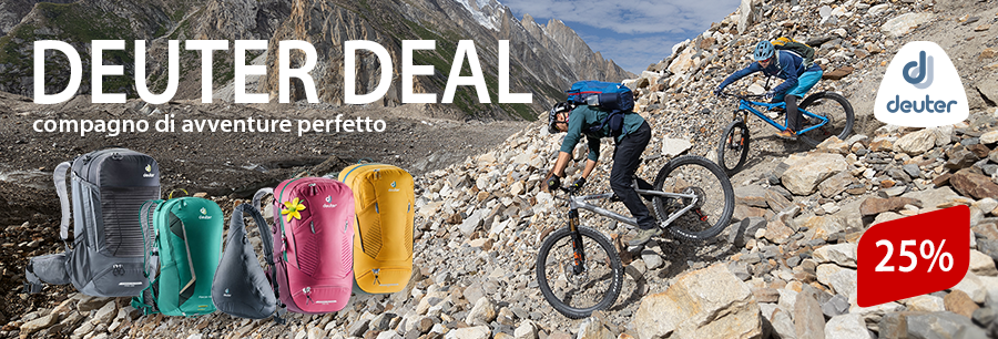 Deuter Deal: Super zaini a super prezzi