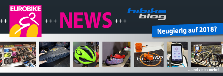 Eurobike 2017 - Die News für 2018