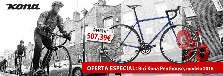 Oferta especial: bici Kona Penthouse
