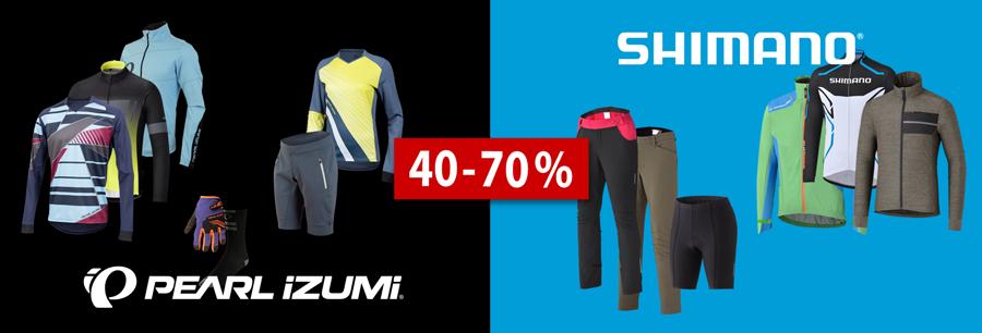 40-70% en abbigliamento MTB & bici da corsa