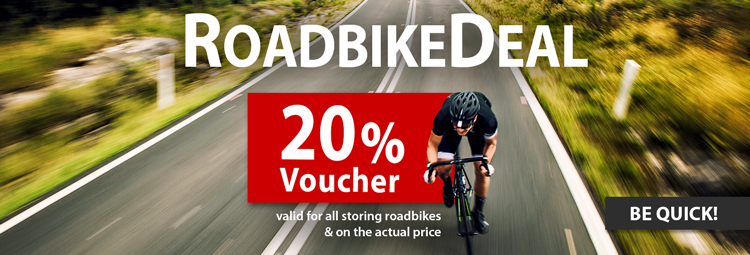 20% voucher on roadbikes at HIBIKE