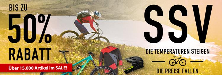SSV Angebote - aktuelle Fahrradbekleidung, Fahrradteile & Zubehör günstig! Bis 50% sparen online bei hibike.de