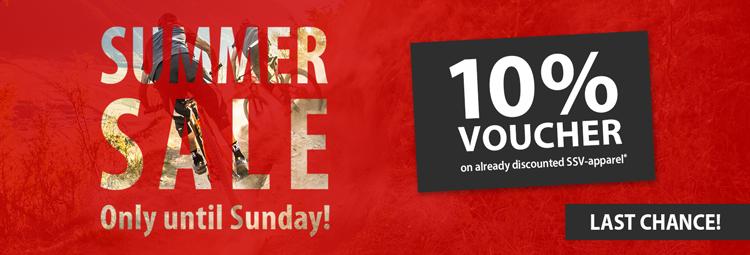 Summer Sale 2.0 10% Voucher - save twice!
