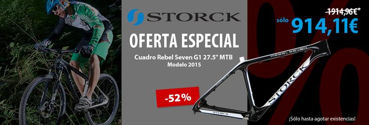 Oferta especial: Cuadro Storck Rebel Seven G1 MTB
