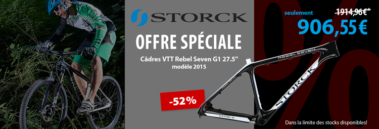 Offre spéciale: Câdre VTT Storck Rebel Seven G1