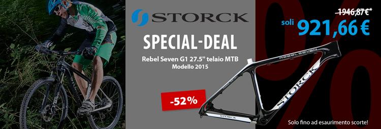 Special-deal: Storck Rebel Seven G1 telaio MTB