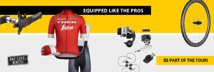 Tour de France products - equipped like the pros!