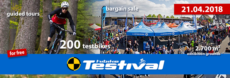Testival 21.4.2018 – all information: demo bikes, raffle, registration
